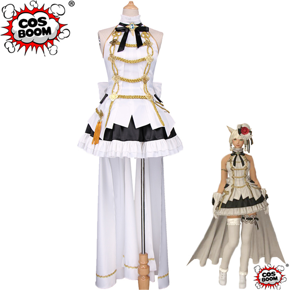 COSBOOM Final Fantasy Cosplay Final Fantasy XIV 14 Event Little Ladies' Day Idol Costume Cosplay Costume