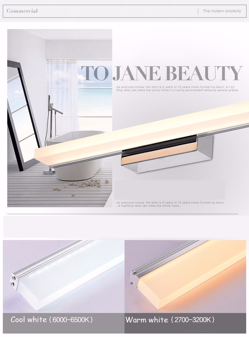 LED mirror wall light-5