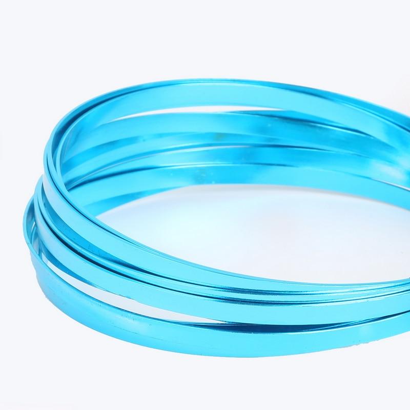 3m/roll 5mm width 1mm thickness Flat aluminum wire Aluminum crafts ...