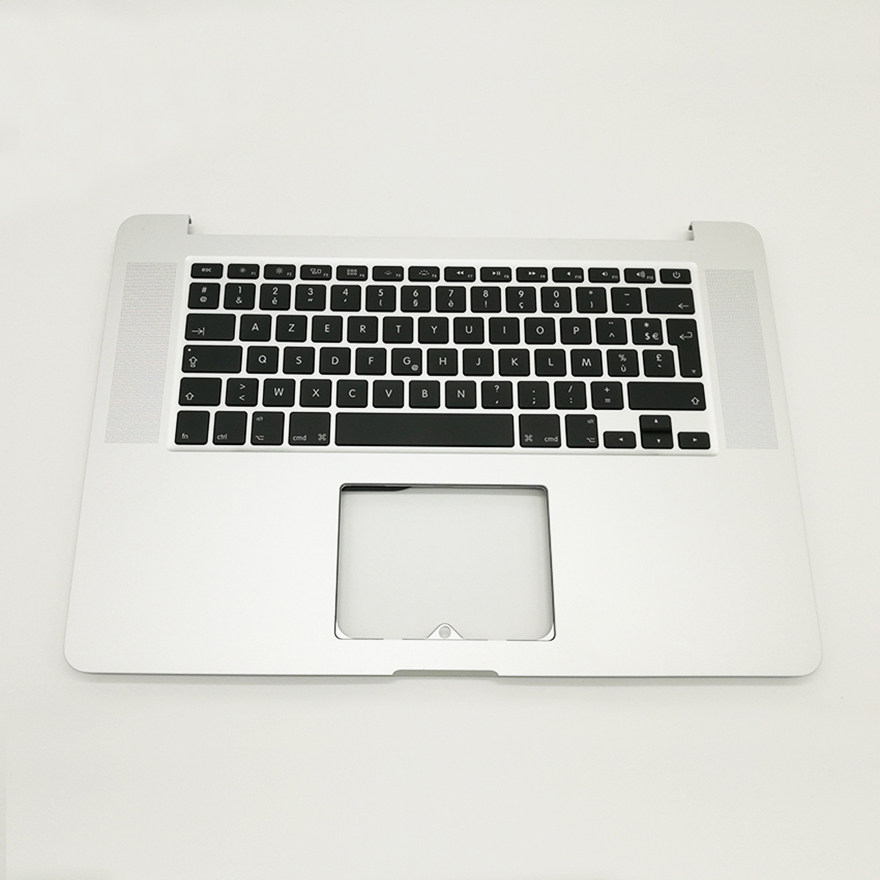 New Keyboard AZERTY Topcase For MacBook Pro 15