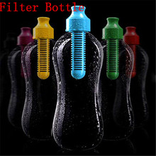 500ML Outdoor Activated Carbon Filter Water Bottle Sport Shaker Bike Bottles Drink Cup Cycling Mugs 2016 Hot Sale