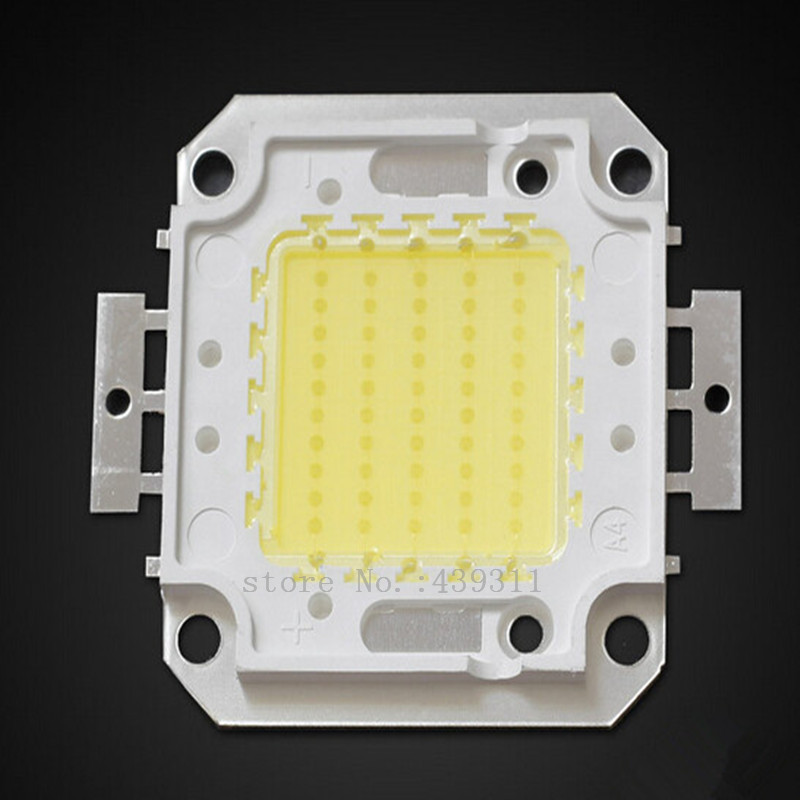 10pcs/lot 20W/30W/50W/100W LED Lights High Power Lamp floodlight Warm white/White Taiwan Genesis 30MIL Chips Free shipping 1w led bulbs high power 1w led lamp pure white warm white 110 120lm 30mil taiwan genesis chip free shipping