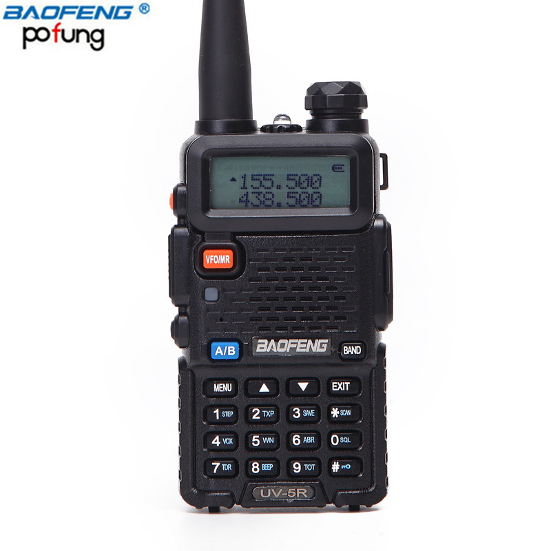 Baofeng BF-UV5R Amateur Radio Portable Talkie Walkie Pofung UV-5R 5 w FM VHF/UHF Radio Dual Band Two Way jambon Radio Uv 5r Cb Radio