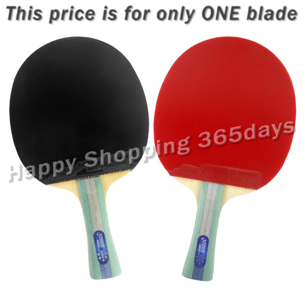 DHS 5002 Long Shakehand FL Table Tennis Ping Pong Racket + a Paddle Bag shakehandLong Handle FL galaxy yinhe emery paper racket ep 150 sandpaper table tennis paddle long shakehand st