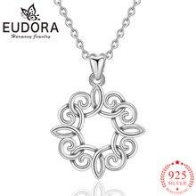 Женские ожерелья с кулоном eudora из стерлингового серебра 925
