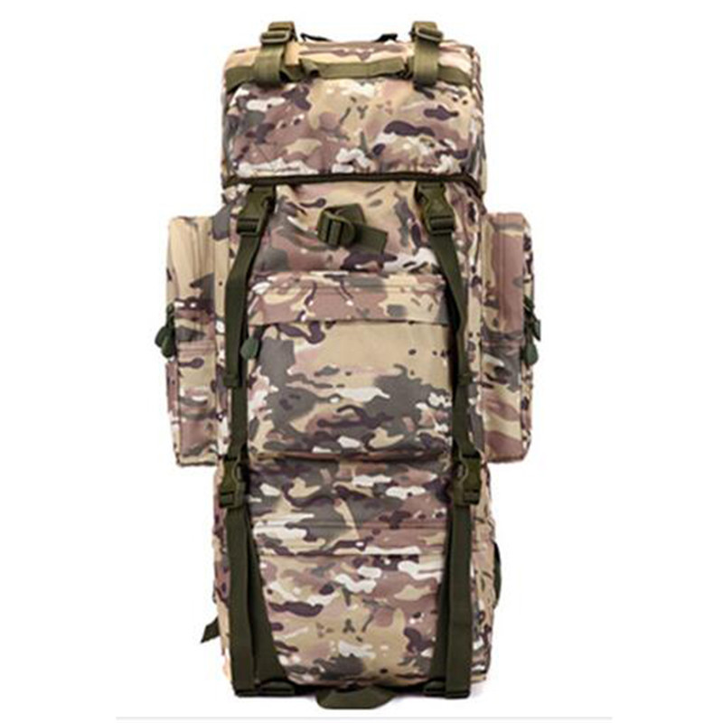Male military backpack ultra-large capacity bag camouflage Backpack multi-functional bags Popular Fashion laptop clutch 6
