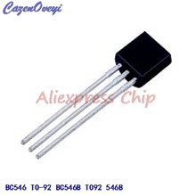 1 pièces/lot BC546 TO-92 BC546B TO92 546B triode transistor en Stock(China)