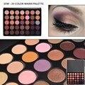 Mais novo 350 Paleta 35 Cores Da Paleta Da Sombra Terra Cor Quente brilho Fosco Sombra de Olho Beleza Cosméticos Maquiagem Set 35 W 35 K 35F