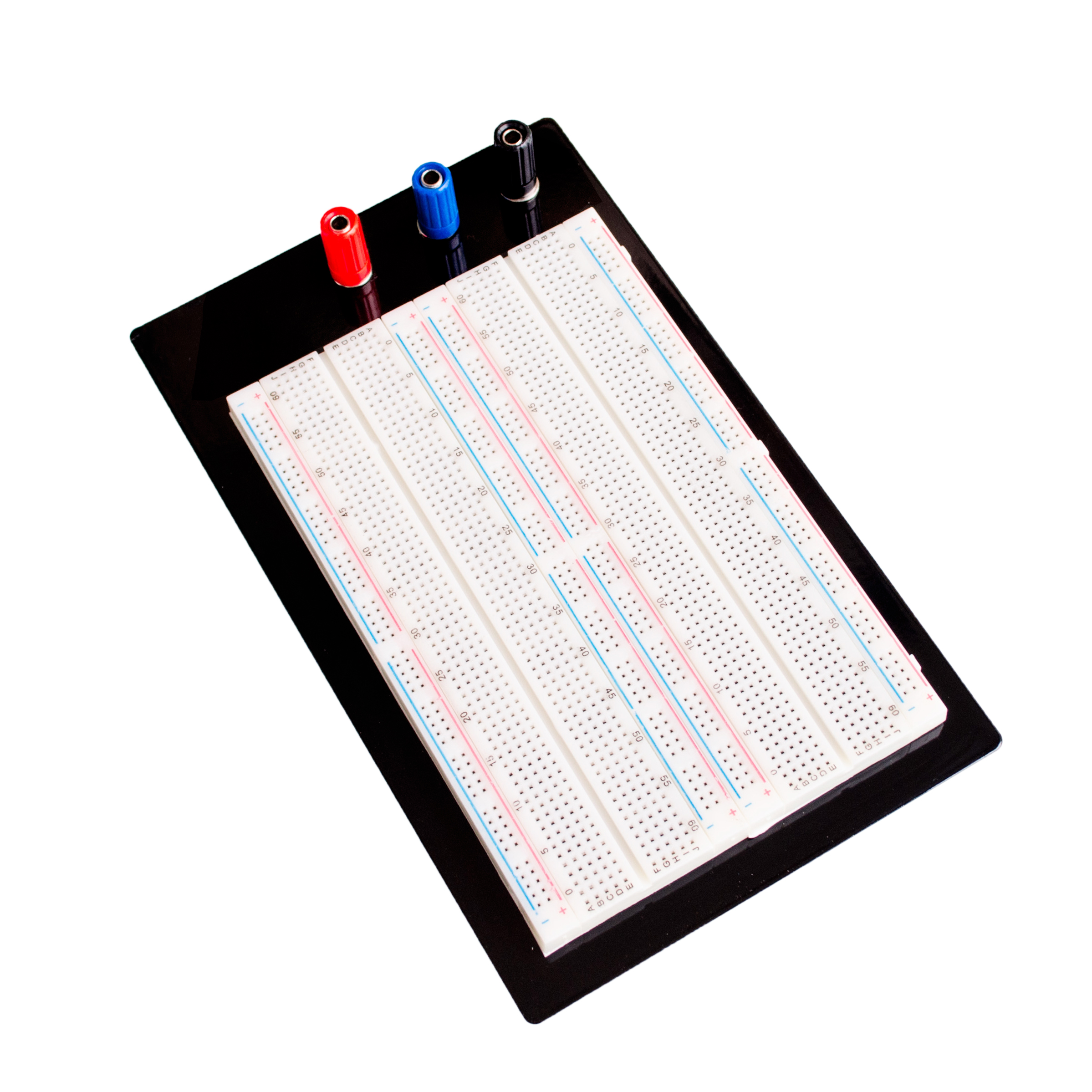 Breadboard Circuit Board Promotion Shop For Promotional Solderless With 400 Tie Points And Matching Pcb Protoboard 4 Bus Test Point 1660 Zy 204