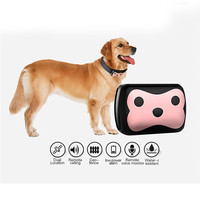 D69 Waterproof MiNi Pet GSM GPS Tracker Locator Collar For Dog Cat Long Standby Geo Fence LBS Free APP Platform Tracking Device