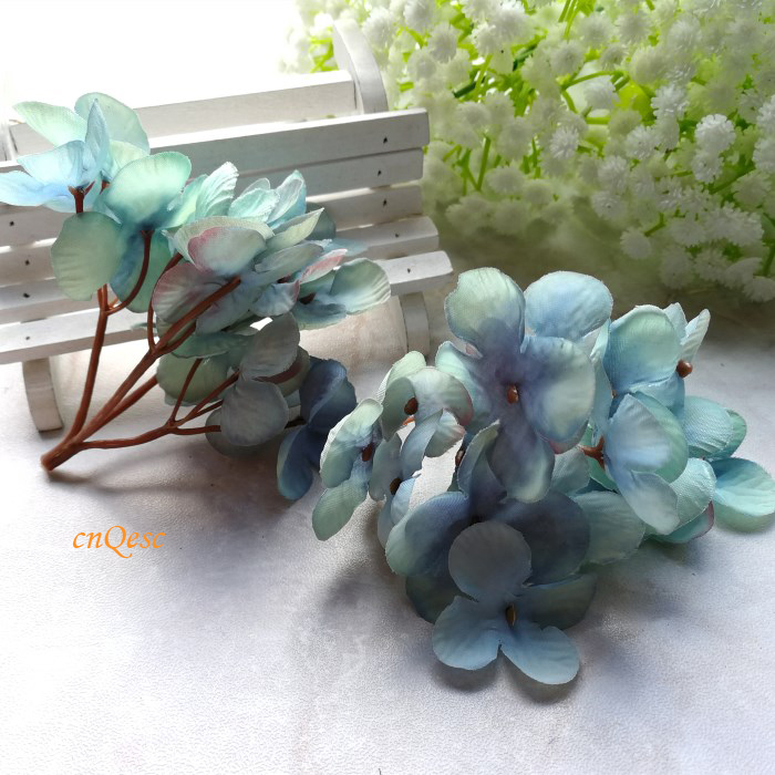 Small hydrangeas artificial flowers flower buds silk flower for small hydrangeas artificial flowers flower buds silk flower for sinamay fascinator bridal hair accessory home decor wedding in hair accessories from womens mightylinksfo Image collections