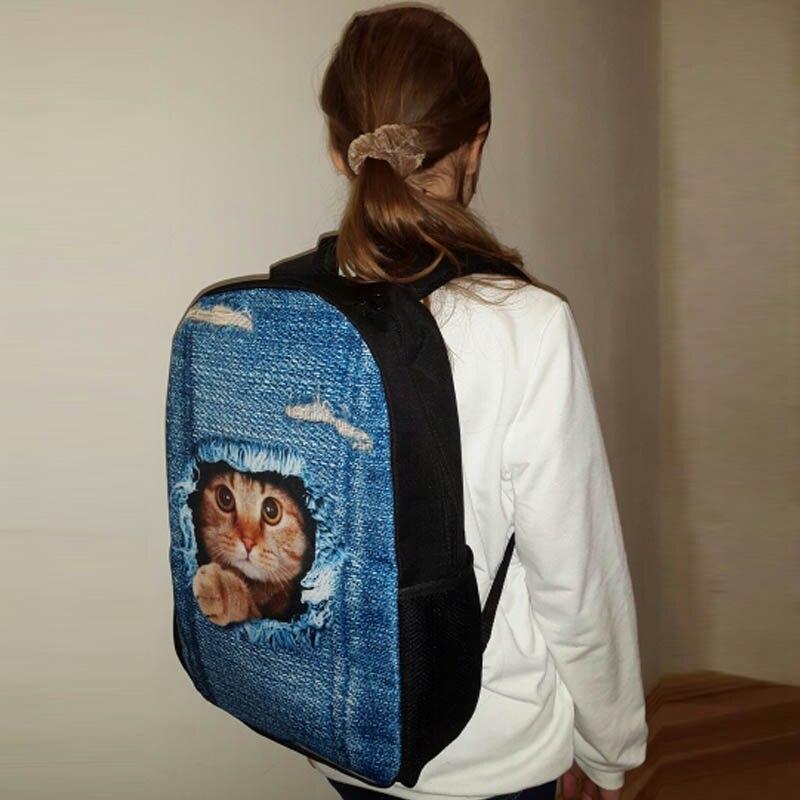 Forudesigns Эйфелева башня ранцы Ван Гог звездное небо школьная сумка для подростков Обувь для девочек, новый Для женщин книга рюкзак портфель оп...