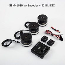 IPower Motor GBM4108H-100T 4108 w/Sistema de BGC Controller Cardán AlexMos 32 BITS Encoder Combo Set