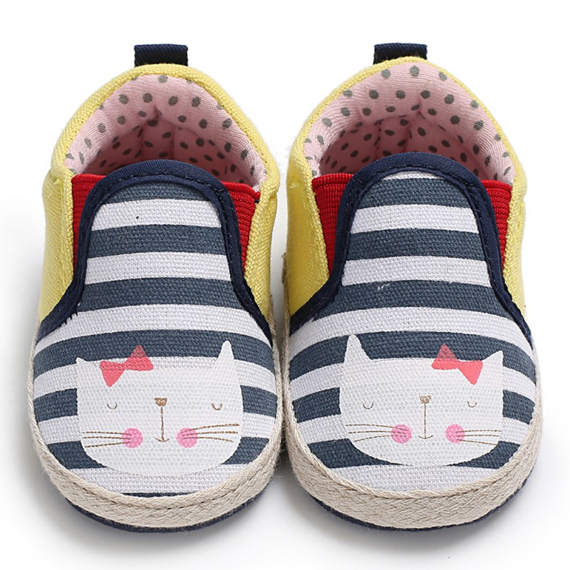 Spring Summer Toddler Shoes Cute Casual Non-Slip Soft-Soled Shoes Baby Boy Girl The First Walker