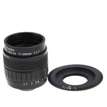 FUJIAN 35mm F1.7 C Montar CCTV F1.7 Lens para Micro 4/3 m4/3 olympus epl5 epm3 epl7 om-d ep1 ep2 ep3 e-m5 epl3 epl6 ep6 E-M10
