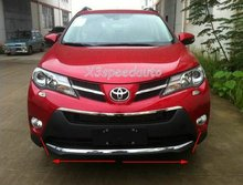 High Quality Chromed Front Bumper Trim Cover For Toyota Rav4 2013-2014