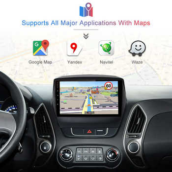Junsun V1 2G+32G Android 8.1 Car Radio Multimedia Player Navigation GPS For Hyundai ix35 1 2 Tucson 2 LM 2011 2012 2013 2din DVD