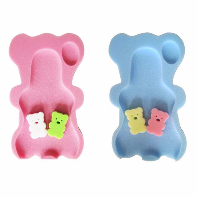 Online Shop Baby Infant Soft Bath Sponge Seat Cute Anti-Slip Foam ...