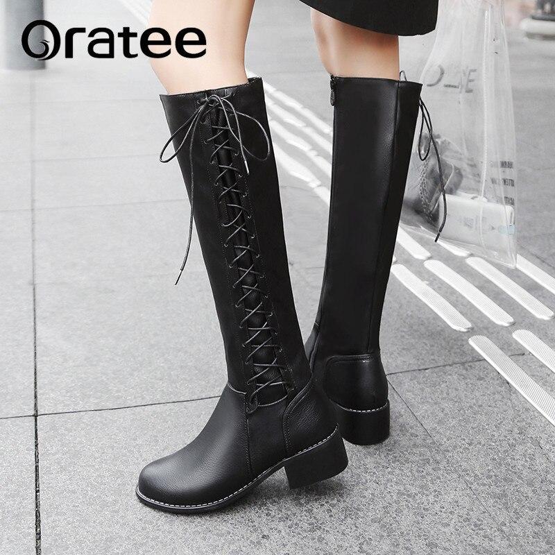 ebbcac26875 white Marca Cuero Para Pu De dark Invierno Altas Creamy Zapatos Botas Alta  black Mujer Brown Rodilla Calidad vqTOwRp