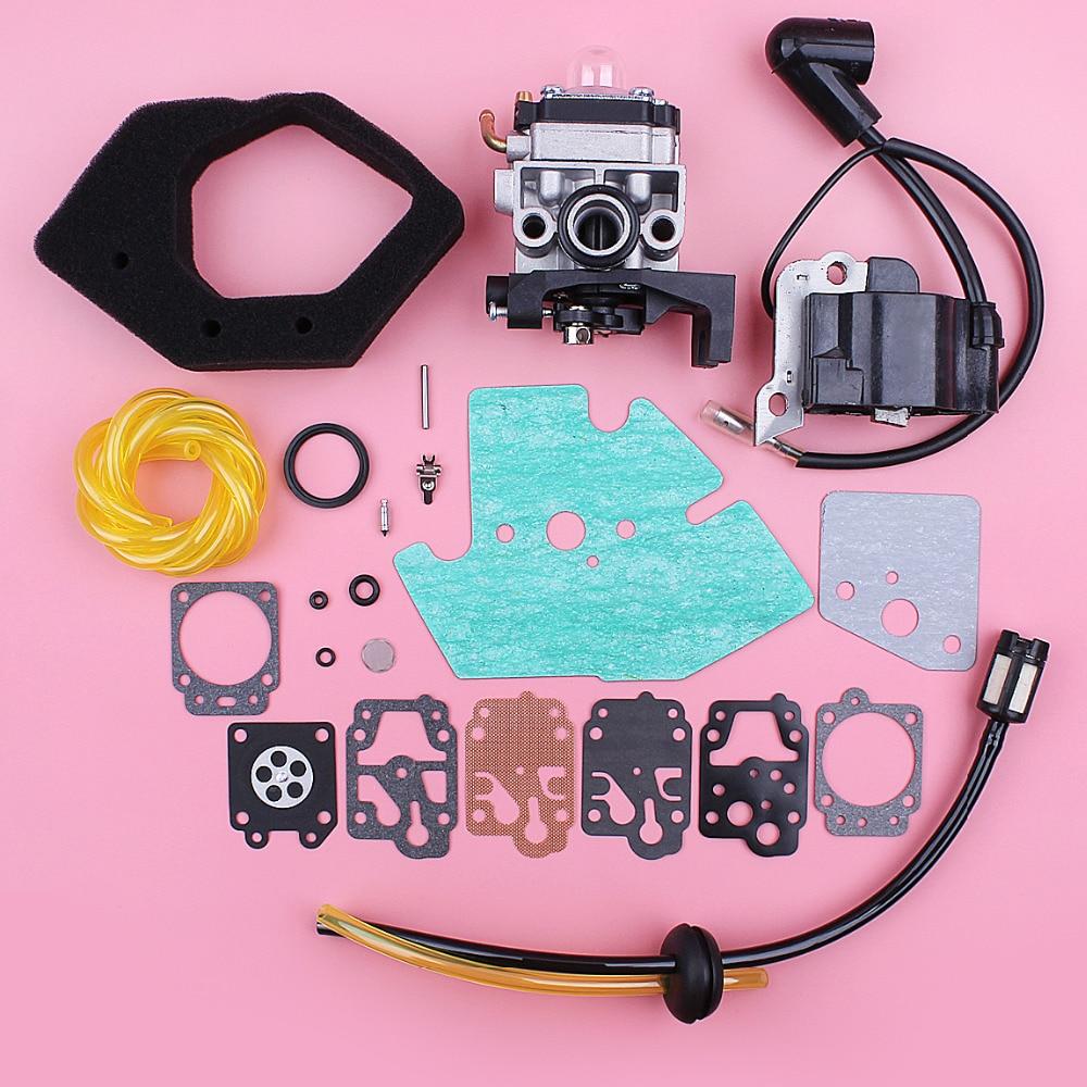 Carburetor Ignition Coil For Honda GX25 HHT25S FG110 Gasket Air Filter Fuel Line Grommet Repair Kit 4 Stroke Engine Replace Part