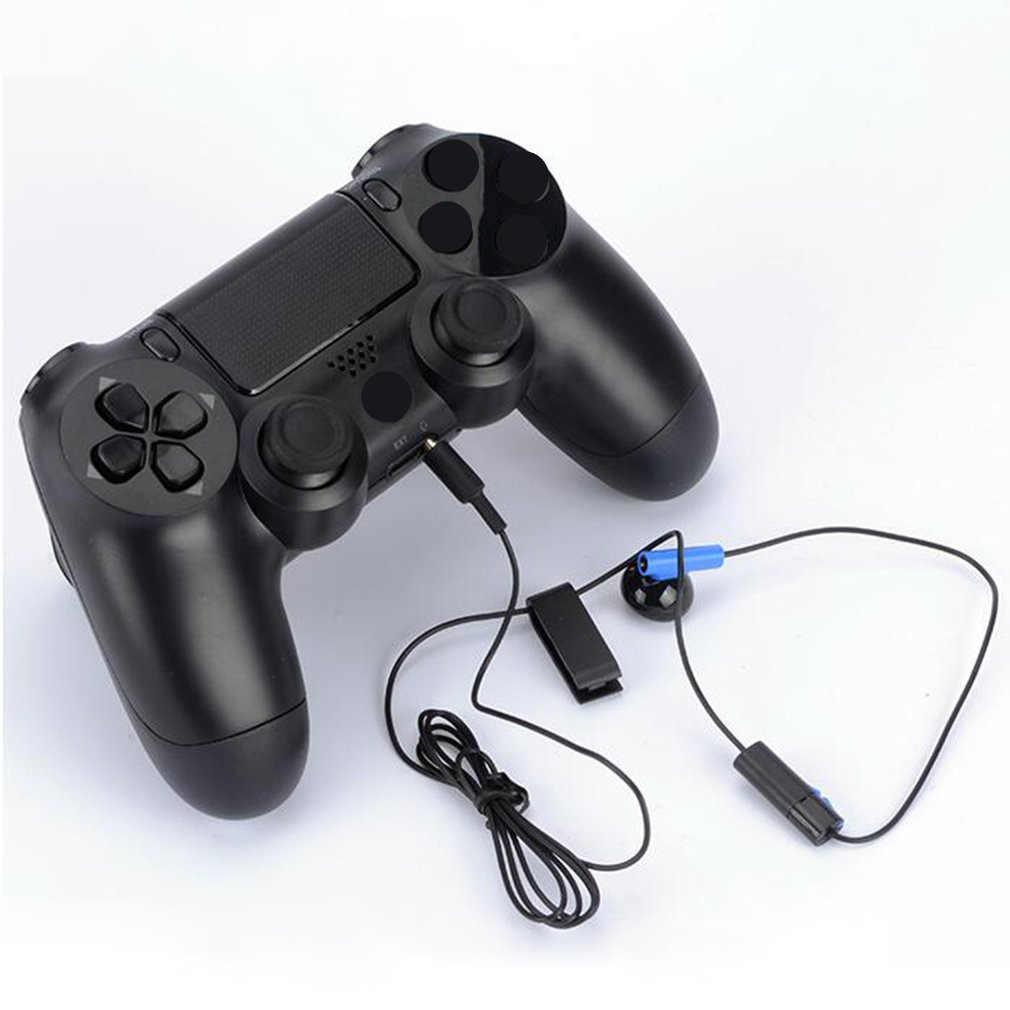 جيم ب سماعة ل PS4 مقبض اللعبة سماعة دعم الدردشة الحية مع ميكروفون واحد سماعة