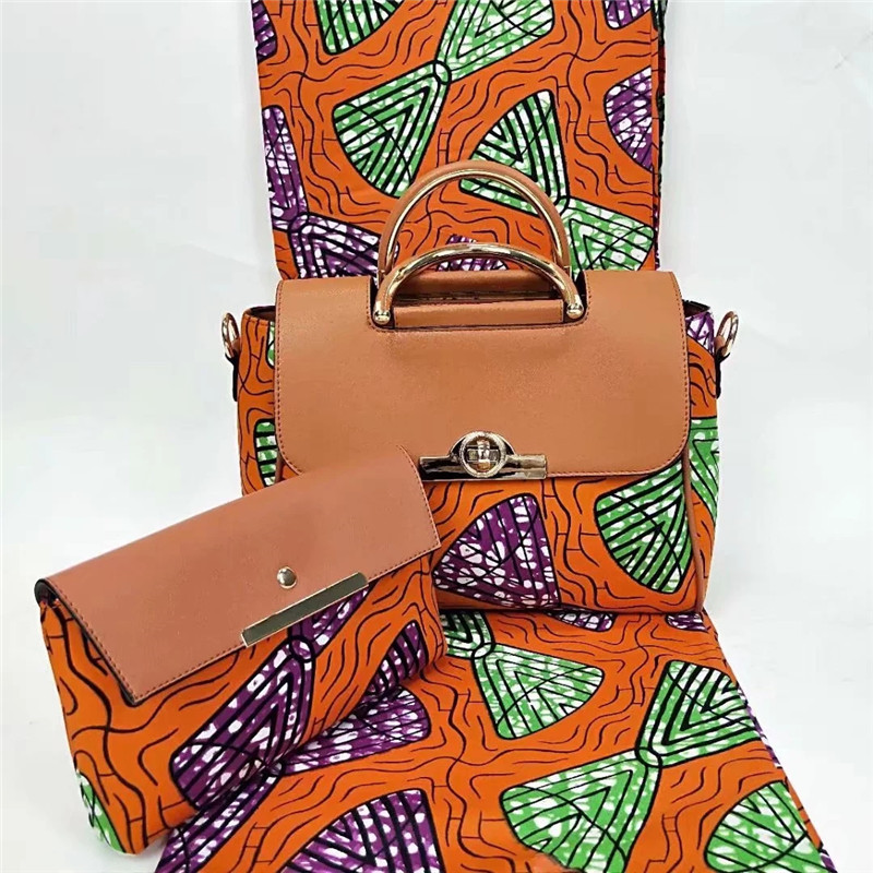New arrival African wax bags 3 pieces/set,high quality woman shoulder bag with 6 yards real hollandais wax fabric YBG052409New arrival African wax bags 3 pieces/set,high quality woman shoulder bag with 6 yards real hollandais wax fabric YBG052409
