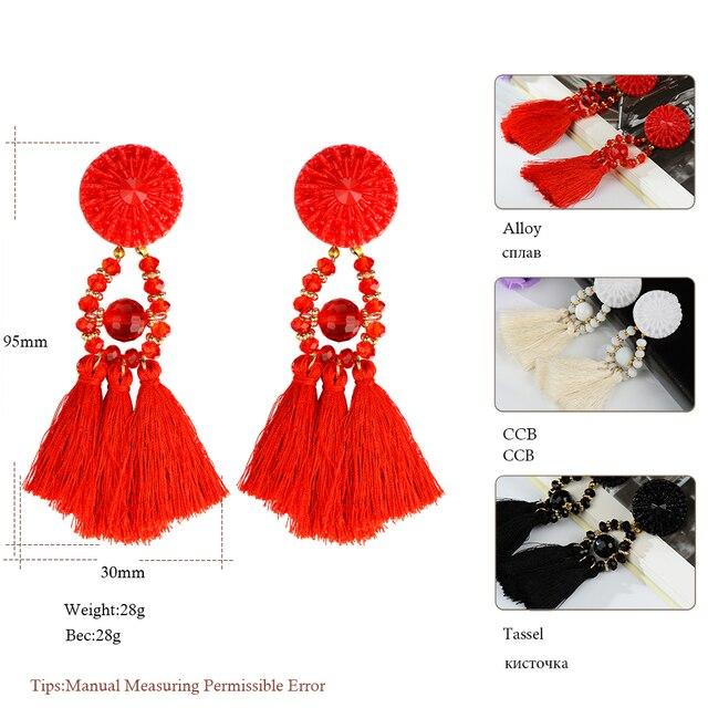 Fashion Tassel Earrings 6