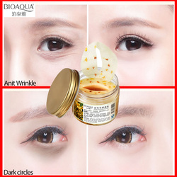 BIOAQUA Золото османтуса маска для глаз против морщин маска для сна повязка для глаз патчи для глаз темный круг маска для ухода за кожей лица ан...