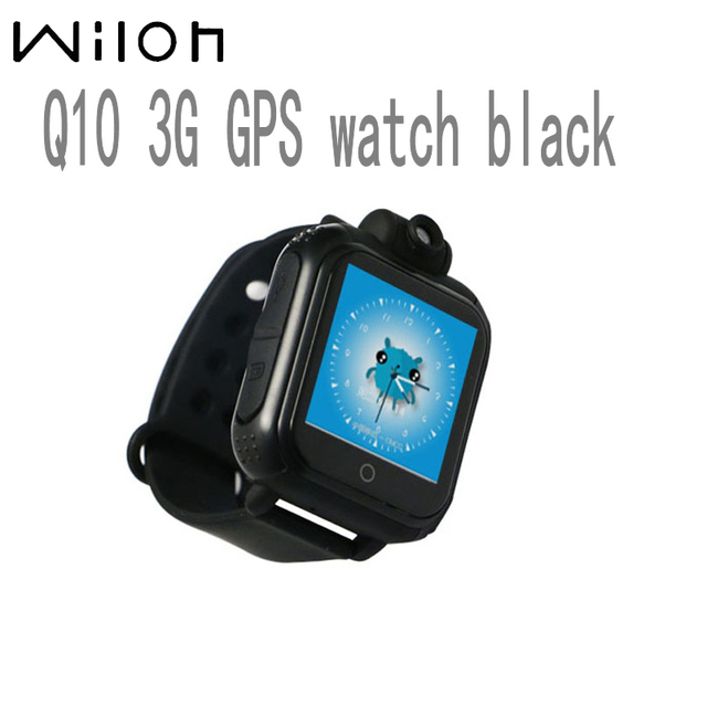 Hot Q10 GPS Tracking Watch For Kids SOS Emergency 3G WCDMA Camera GPS LBS WIFI L