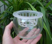 20pcs/lot,OD-100mm,ID-75mm,high-40mm,Hydroponic planting basket custom orchid flower soilless cultivation