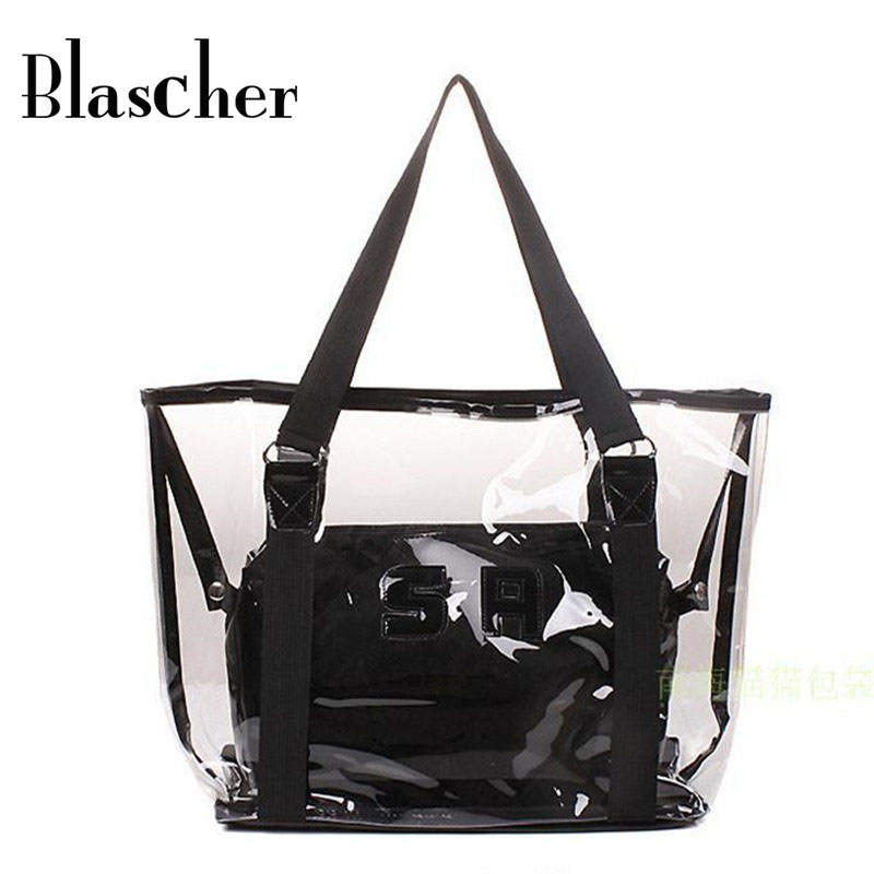 Popular Clear Beach Bag-Buy Cheap Clear Beach Bag lots from China ...