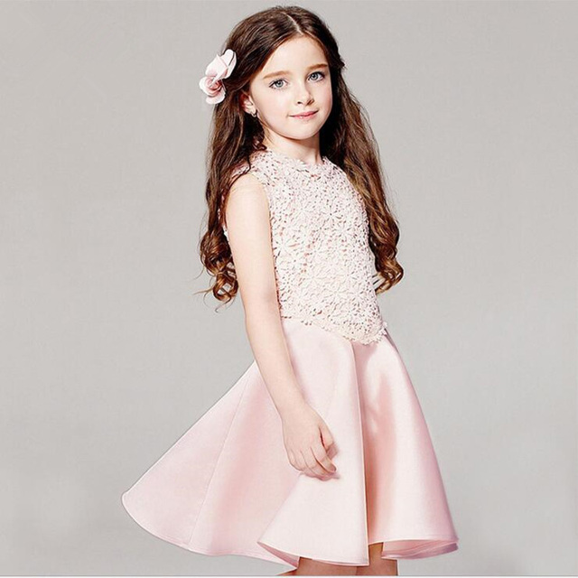 2016 new girl dress plus size european style dress baby girls ...