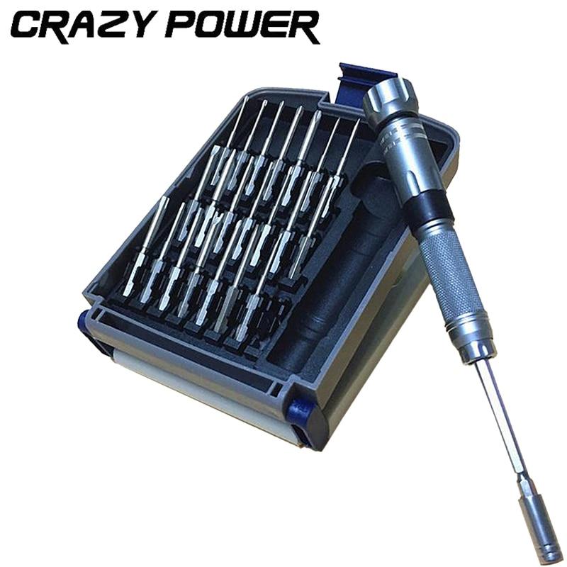 crazy power 22in1 magnetic magnetic precision screwdriver set professional repair. Black Bedroom Furniture Sets. Home Design Ideas