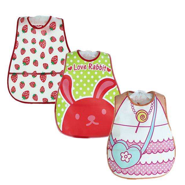 Baby Bibs Waterproof 3 Pieces/lot Lunch Bibs Infant Burp Cloths 2016 Brand Clothing Towel Kids Clothing Accessories 2
