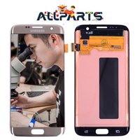 Warranty 5 5 Super AMOLED Screen For SAMSUNG Galaxy S7 Edge LCD Display G935 G935F G935FD