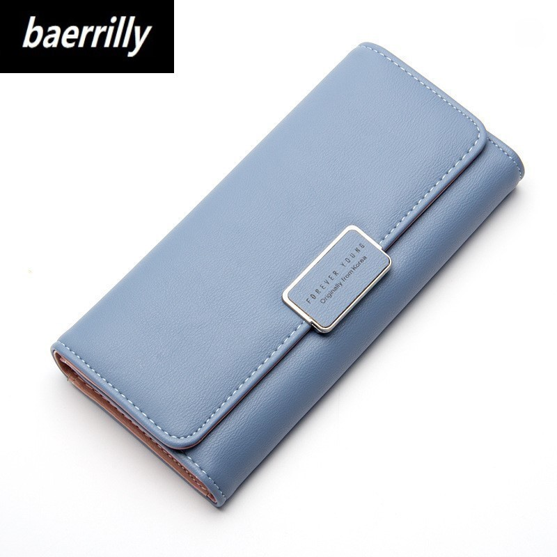 Brand Design Women Long Wallets Candy PU Leather Wallet Day Clutch Female Coin Clutch Card Holder High Quality Women's Purse high quality floral wallet women long design lady hasp clutch wallet genuine leather female card holder wallets coin purse