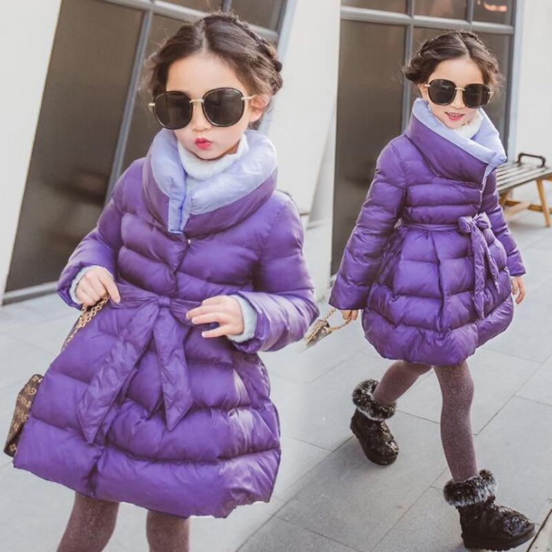Girls winter coat Children's Parkas Winter Jackets for girls Clothing for girls jacket Clothes for baby girls kids5 6-7-8-9Years doodlepedia for girls
