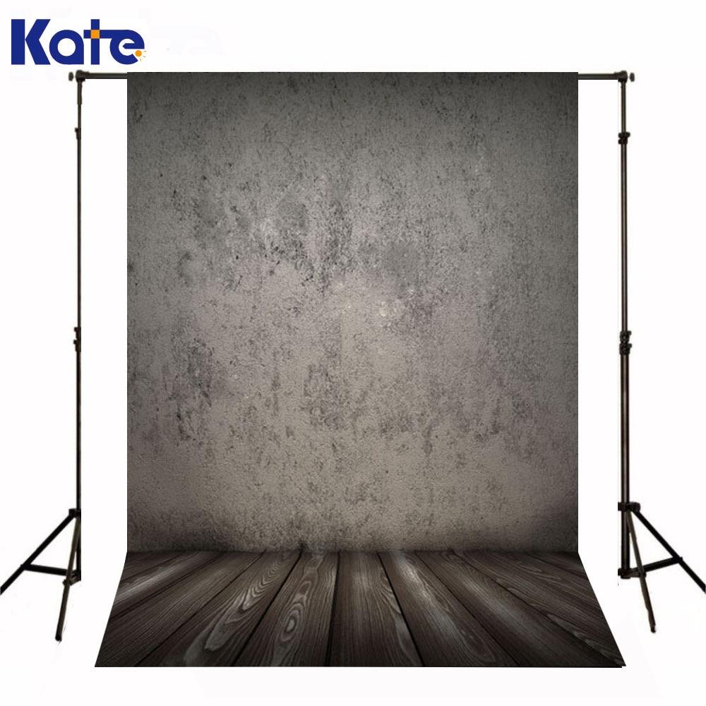 Kate Newborn Baby Background Photo Rough Gray Wall Fond De Studio De Wood Texture Floor Photography Backdrops For Photo Studio цена 2016