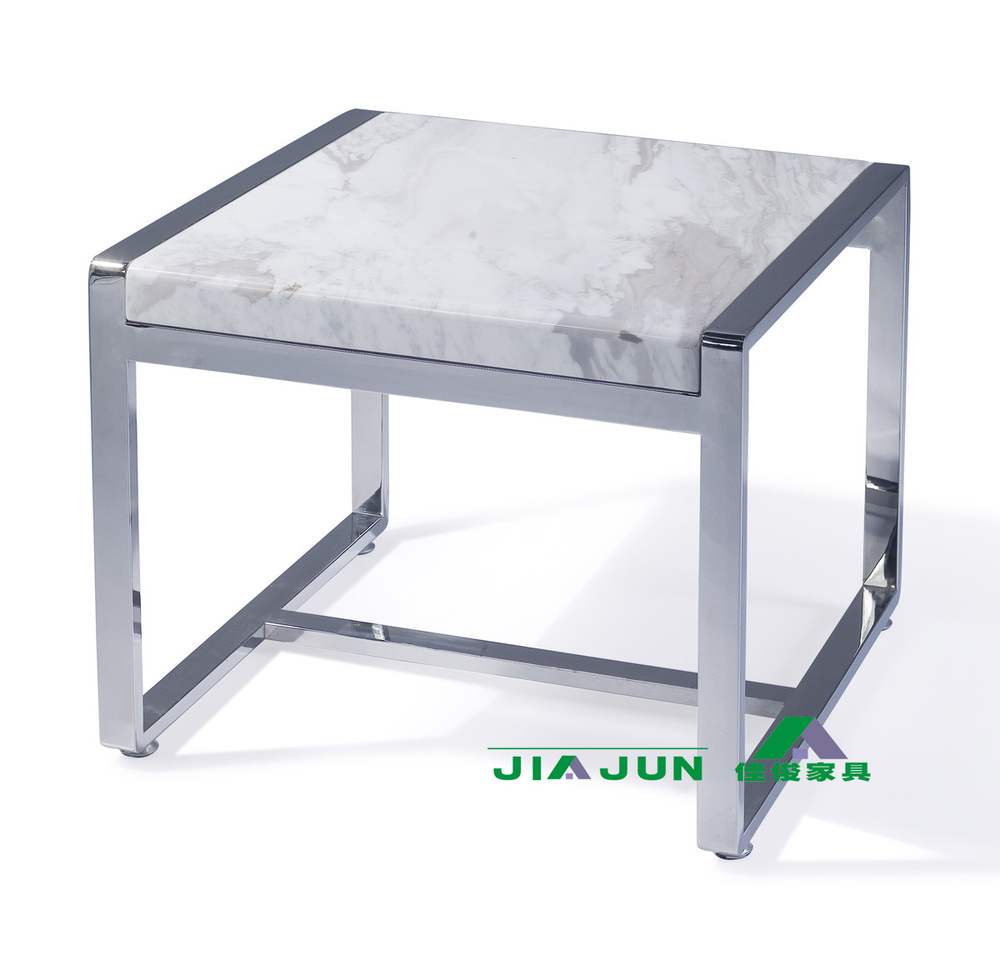 Jazz Natural White Marble Coffee Table Stainless Steel Coffee Table /  Fashion Simple Coffee Table / Modern Coffee Table 11010 In Coffee Tables  From ...
