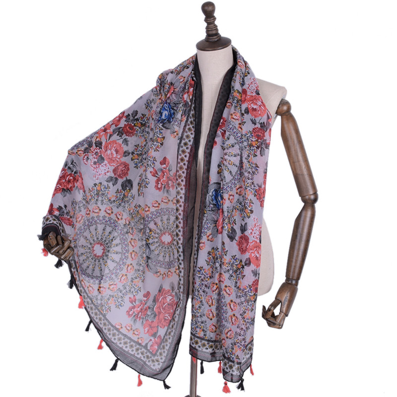 *US SELLER* 10pcs paisley floral pashmina scarf Winter wholesale Discount Scarf