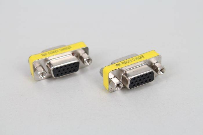 DB15 female head / hole VGA adapter serial port hole turn hole 15 mother to turn 15 female first three rows of socket turn