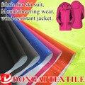 Tela con impermeable pu de Aire y la humedad permeable para ropa de Montaña, chaqueta impermeable, desgaste antideslizante