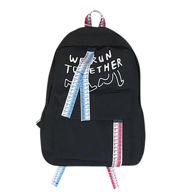 b71f4f2b5de16 Sırt çantası Kadın Çanta Okul Sırt Çantaları Bayanlar Tuval Moda Seyahat  Fermuar Öğrenci Kadın mochila feminina