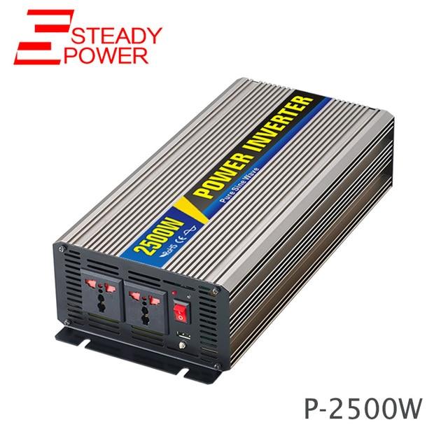 2500 watt reine sinus wechselrichter maquina de soldar 24 volt 220 v ...