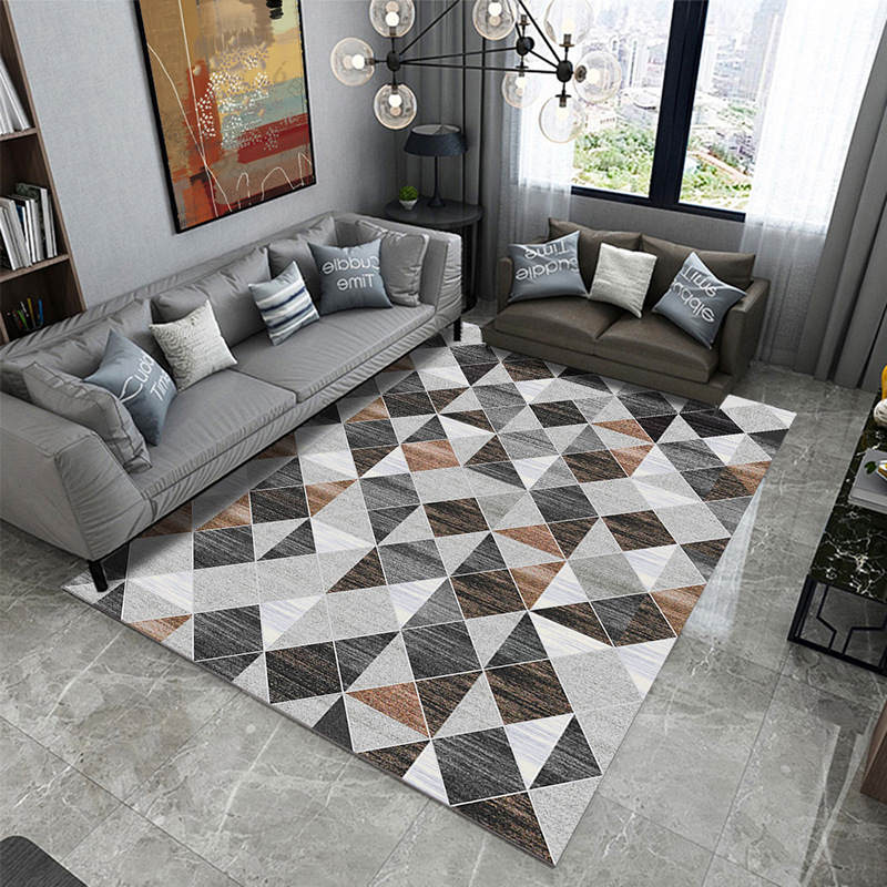 US $1.37 44% OFF|New Modern Geometric Soft Carpets For Living Room Bedroom  Rugs Home Carpet Floor Door Mat Kid Room Tea Table Area Rug Mats-in Carpet  ...