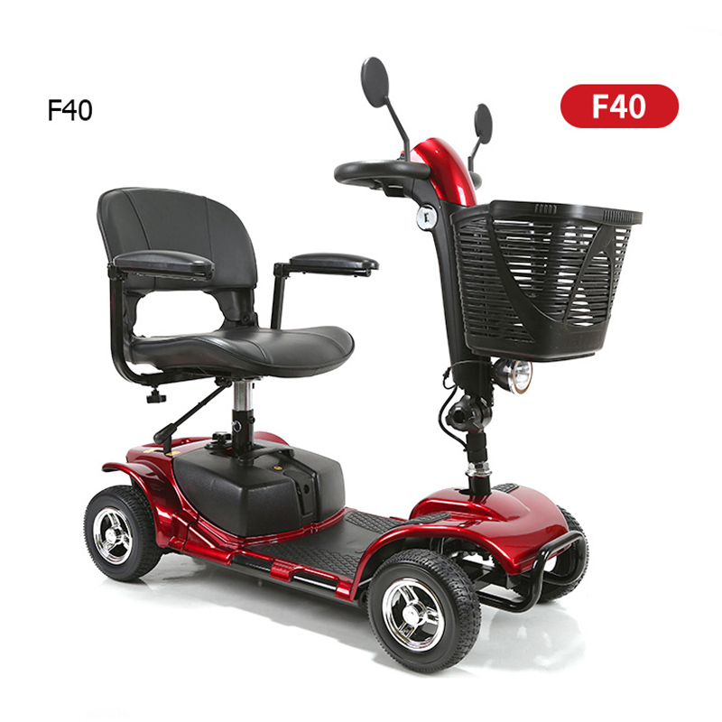 ENGWE High quality Electric 4 Wheelchair Portable Medical Scooter for Disabled Elderly 4 Wheel Electric Travel Scooter for Adult
