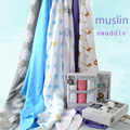 Swaddle Blanket Newborn Summer Infant Muslin Swaddle me Newborn Baby Products muselina aden anais Swaddles baby inbakeren wrap