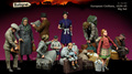 Os Kits de resina 1/35 SEGUNDA GUERRA MUNDIAL Os Civis Europeus 1939-45 figura de Resina Não cor figura Modelo BRINQUEDOS DIY nova SEGUNDA GUERRA MUNDIAL WW2