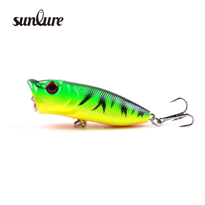 1Pcs 6cm 13g Popper Fishing Lure Wobblers Hard Bait with 2 Treble Hooks Isca Artificial Fly Fishing bait fishing tackle ZB84 fishing lures big hard lure popper wobblers fishing tackle 3d eyes abs bait crankbait isca with hooks 10 colors 1pcs
