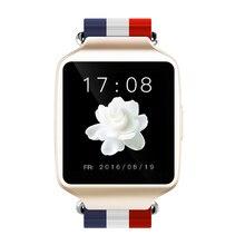 Neueste L1 Stilvolle Intelligente Uhr MTK2502 Bluetooth 4,0 SmartWatch Tragbares Gerät Fitness Tracker Schlaf monitor für iOS Android